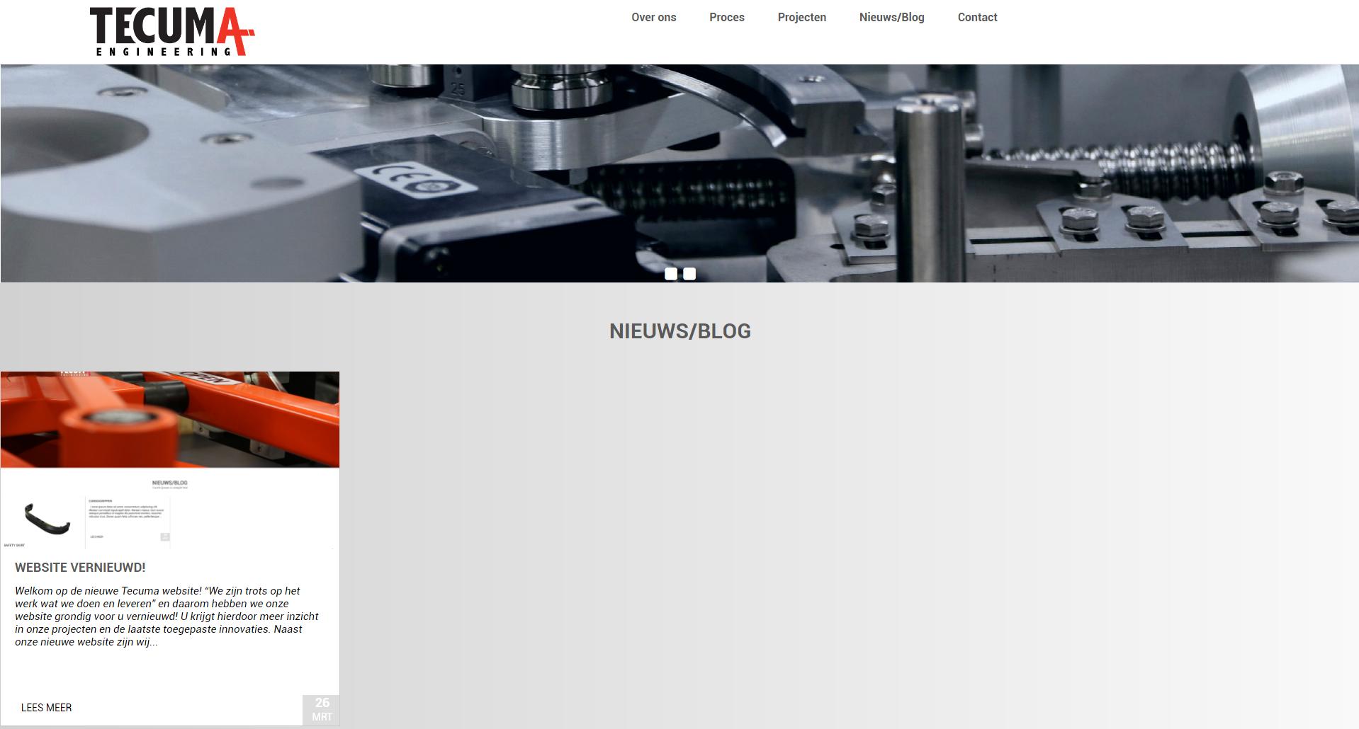 Website vernieuwd!